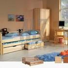 Кровать с выдвижным спальным местом тolek (толек)