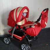 Детская коляска трансформер Комфорт зима-лето