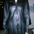 Кожаный пиджак - курточка р.М-L состояние нового