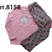 Мягкая и теплая женская пижама, флис, фланель, велсофт, Англия, Primark