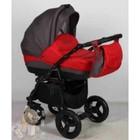 Детская универсальнавя коляска 2 в 1 Aneco Venezia цвет: 6, красный с серым. Польша