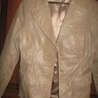 Кожаная куртка модная. разм. 42 44