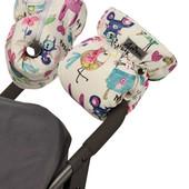 Двойная универсальная тёплая муфта для всех типов колясок ДоРечі™