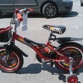 Azimut Детский двухколесный велосипед Тачки 12-18 диаметр azimut