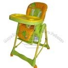 Bambi Стульчик для кормления RT-002-7-5 оранжево-зеленый