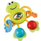 Погремушка-Прорезыватель лягушка, жабка, ELC