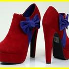 Секси красные Брендовые ботиночки  ботильны  Просто шик!