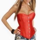 В наличии Красный красивенный корсет 46 размера. Ниже закупки