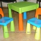 Новый комплект Tega Mamut многофункциональный стол и 2 стула!Все цвета в наличии!!!