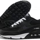 Кроссовки Nike Air Max 90 - черно-белые