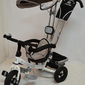 Детский трехколесный велосипед Lexus trike звонок (надувные колеса)