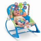 Детское массажное кресло-качалка, кресло-шезлонг Fisher Price