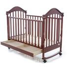 Кроватка деревянная Baby Care BC-419BC темный орех ламель R
