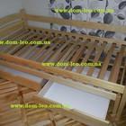 Кровать детская Tolek из ольхи
