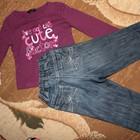 Реглан George + джинсы Next  на 1-1,5год. Цена за комплект 80грн