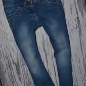 5 - 6 лет 116 см Обалденные фирменные джинсы скины для моднявок узкачи