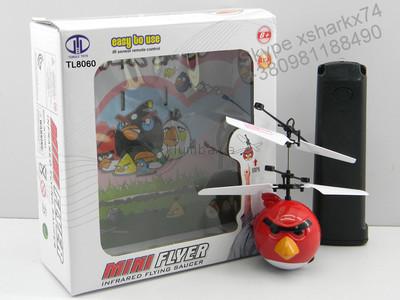 Летающий angry birds с пультом управления!веселая игрушка для детей и взрослых! фото №1