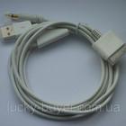 Автомобильный аудио кабель для iPhone 3G 3GS 4 4S - зарядка и прослушивание музыки