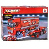 Конструктор для мальчиков Формула 1: Мега Гонки, 570 деталей, фигурки 26703