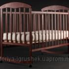 Кровать Наталка Ольха тонированная