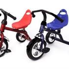 Детский трехколесный велосипед QAT-T001 со стальной рамой в 2 цветах, новый