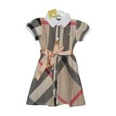 Элегантное платье Burberry на девочку
