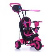 Трёхколёсный велосипед Smart Trike Spark 4 в 1 розовый