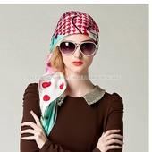 Летний головной убор - шифоновый шарф