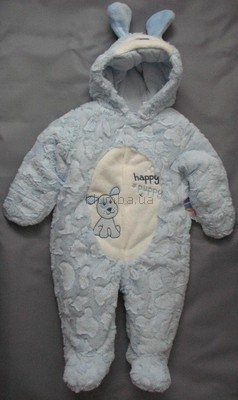 Плюшевый демисезонный комбинезон для мальчика babies r us фото №1