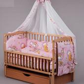 Детское постельное бельё - 8 предметов