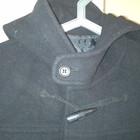 пальто кашемир.чёрное новое