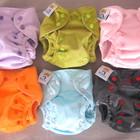 Велюровые многоразовые подгузники фирмы пороро. для новорожденных от 2 кг