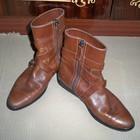 Фірмові шкіряні чобітки TOD'S, 36р.