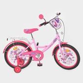 Велосипед детский мульт 18 д. P 1856