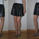 Модная юбка из кож зама размер ХС-С