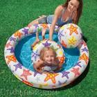 Детский бассейн звёзды с мячом и кругом интекс Intex 122*25см