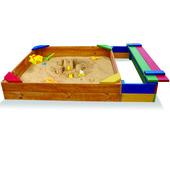 Песочница для детей,деревянные песочницы,Pes-6