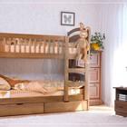 Двухъярусная кровать Карина + матрасы + ящики  Акция