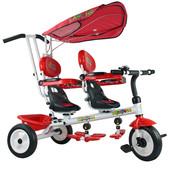 Детский велосипед для двойни Супер трешка