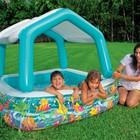 Бассейн 57470 Intex, 280 литров, с защитой от солнца