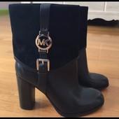 37-37, 5 Очень красивые брендовые кожаные ботинки Michael Kors