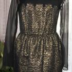 Продам короткое золотое платье