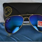 Очки Ray-Ban Aviator Flash Lenses RB3026  112/17! Стекло!Акция!
