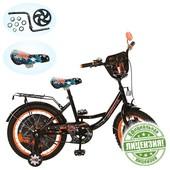 4-6 лет Велосипед детский 16д. GR 0003 Generator Rex, черно-оранжевый