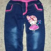 Легкие джинсы на девочку 1,5-2,5 года