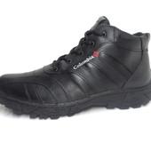 Мужские зимние ботинки Columbia, нат.кожа,прошитые