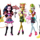 Куклы Монстер Хай Monster High серия Слияние монстров Freaky Fusion