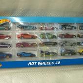 Hot wheels 20 хот вилс набор машинок 20 штук