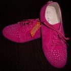 Обувь на девочку. 33 размер 19 см : 35 размер 21см