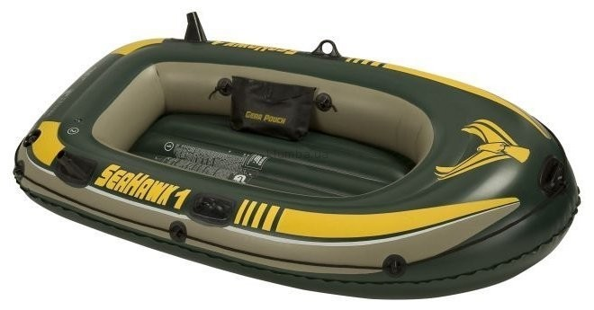 Одноместная надувная лодка Seahawk 1, Intex 68345 фото №1